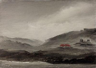 ACEO 2017-80 Original Miniature Landscape Oil Painting