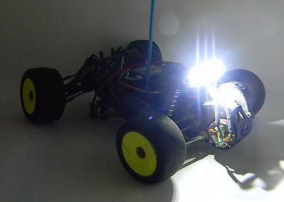 3 LED LIGHT BAR RC CAR, TRUCK, CRAWLER BRIGHT WHITE NEW