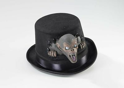 Black Twisted Attraction Monkey Circus Clown Top Hat Adult Costume Accessory](Circus Monkey Costume)