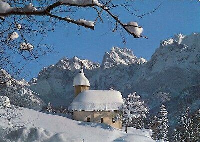 Alte Postkarte - Antoniuskapelle im Kaisertal