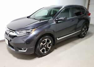 2017 Honda CR-V Touring |Rmt Start|Navi|Htd Leather|Htd Wheel