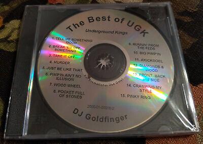 SEALED Texas Rap CD DJ GOLDFINGER - The Best Of UGK - Underground Kings PIMP (The Best Of Ugk)