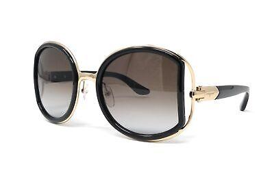 Salvatore Ferragamo Sunglasses SF719S 001 Black Round Women 52x22x130