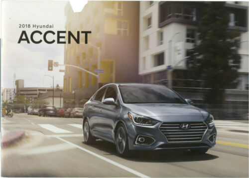 Hyundai Accent 2018 Brochure
