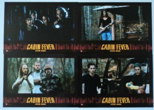 CABIN FEVER RARE Original 7 Lobby Card Set 1982 Eli Roth