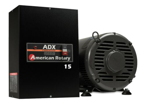 American Rotary Phase Converter  ADX15 15 HP 1 to 3 Phase CNC Extreme Duty