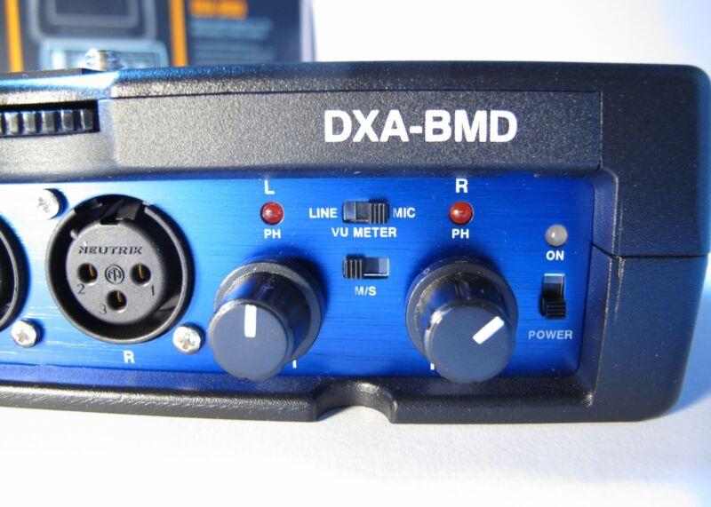 Beachtek DXA-BMD Blackmagic Cinema Camera 2-Channel Passive Audio Adapter