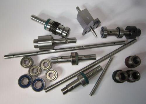 LOT 35mm Film Projector Parts Jackshaft Assembly Drive Shafts Gears Bearings Etc