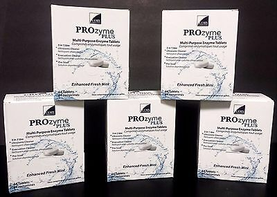 Prozyme Plus Ultrasonic Cleaning Solution Tablets 320 Tablets 5 Boxes Of 64