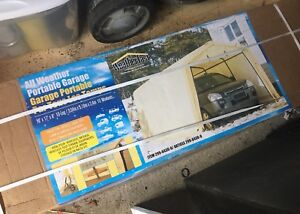 All Weather portable garage-brand new