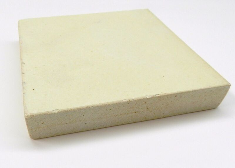"""Ceramic Heat Plate 10""""x10"""" x1"""" Thick High Temperature For Soldering & Melting"""