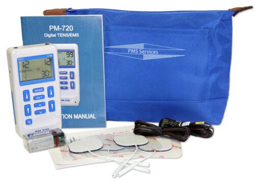 Digital Tens/EMS Combination Unit - Quality Unit for Pain Management - PM720