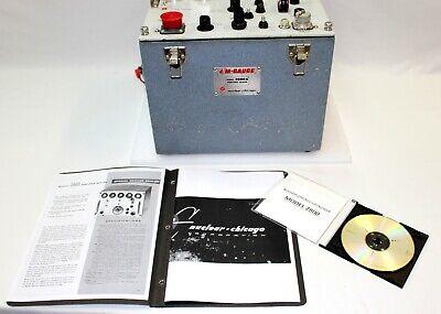 Rare Nuclear Chicago 2800a Portable Cold War Radiation Tester Neutron Geiger