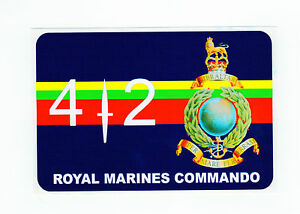 ROYAL MARINES CAR BUMPER STICKERS WITH SLOGANS