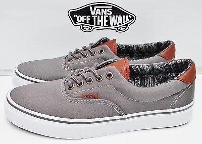 Vans Era 59 (C&L) Pewter/ Italian Weave VN-0A3458LW9 Men's Size: 7