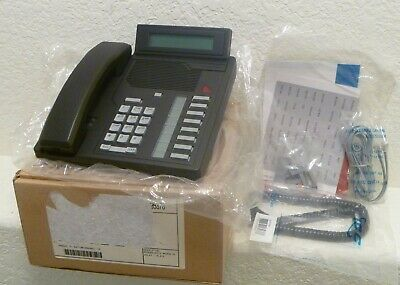New Nortel Meridian M2800d Business Office Display Phone Black Telephone Nib
