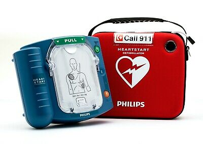 New In Box Philips Heartstart Onsite M5066a Aed Hs1 2022 Pads Factory Warranty