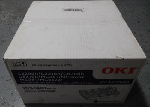 Genuine OEM New Sealed Oki 44494201 Image Drum