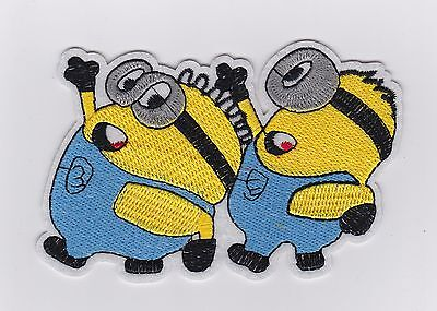 MINIONS FROM DESPICABLE ME - Iron on Patches/Sew - Minion From Despicable Me