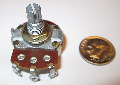 500 Ohms Potentiometer Linear Taper 24mm Od  Nos 1 Pc.