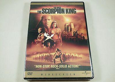 The Scorpion King Dvd Collectors Edition Dwayne Johnson  Kelly Hu  Bernard Hill