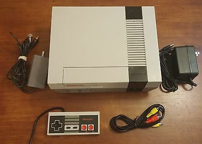Refurbished Original Nes Nintendo System Console   New 72 Pin  All Hookups