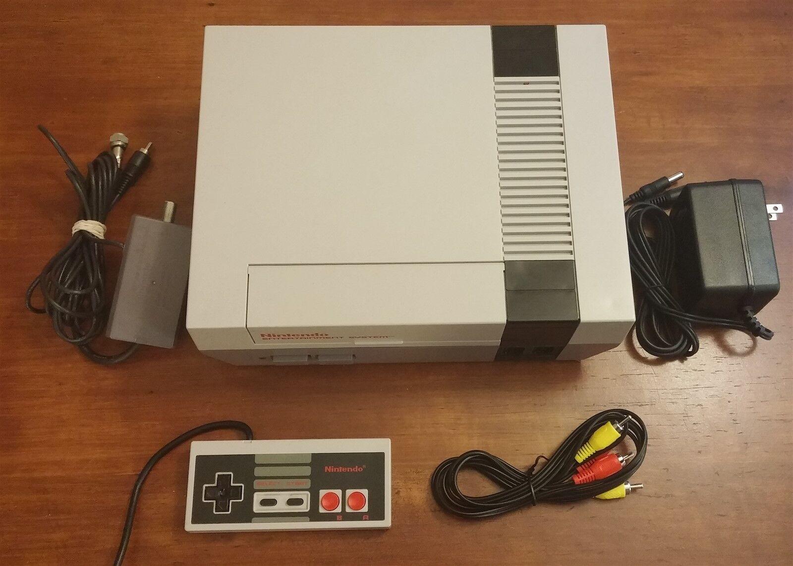 Refurbished Original NES Nintendo System Console - New 72 Pin, All Hookups