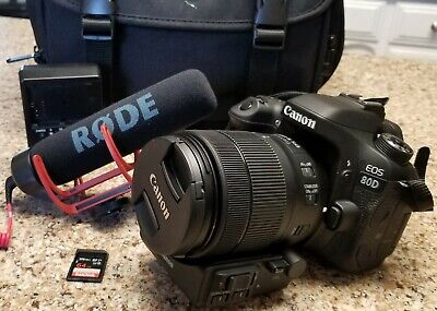 Canon 80D w/18-135mm /extras