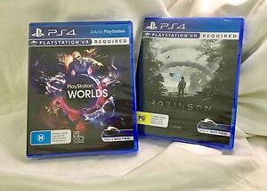 PS4 - VR 2x Games - Brand NEW at Half Price! West Perth Perth City Area Preview