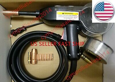 Us Seller Mig Spool Gun Fit Lincoln Power Mig 140c180c216210 Mpsp-140t180t