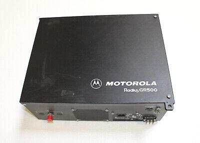 Motorola Gr500 Cdm1550 Ls Cdr700 Uhf Repeater W Duplexer 403-470 Mhz