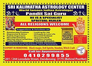 SRI KALIMATHA ASTROLOGY IN MELBOURNE Dandenong Greater Dandenong Preview