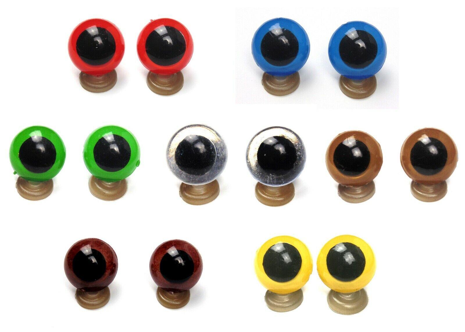 Finden, vergleichen, kaufen - 8-20 mm Plastic Safety Eyes Blue Green Red Brown Amber Amigurumi Toy Teddy Bear  auf eBay.co.uk ab 0.99 GBP