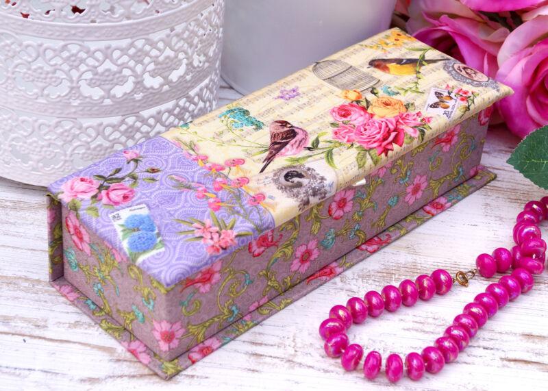 Schmuckkasten Schmuckkästchen Schmuckkoffer Schmuckschatulle rosa Mädchen Kinder Gelb