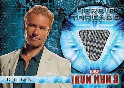 Iron Man 3 Movie Costume Memorabilia HT-9 Guy Pearce as Aldrich Killian
