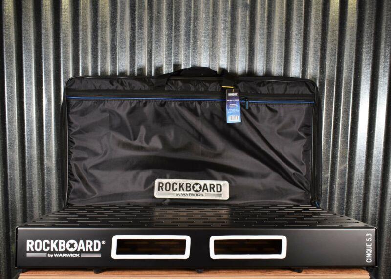 Warwick Rockboard Cinque 5.3 B Guitar Effect Pedalboard & Gig Bag