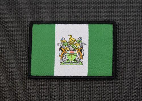 Rhodesia Flag Woven Uniform Patch Selous Scouts C Squadron SAS RSF Pamwe Chete