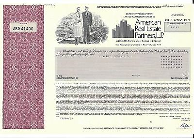 American Real Estate Partners L P      1989 Certificate