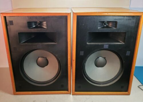 Vintage Klipsch Original Heresy HD-BR Bullnose Speakers - Local Pick Up ONLY