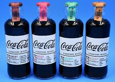 *New Signature Mixers Coca Cola Hutchinson bottles Belgian version Belgium