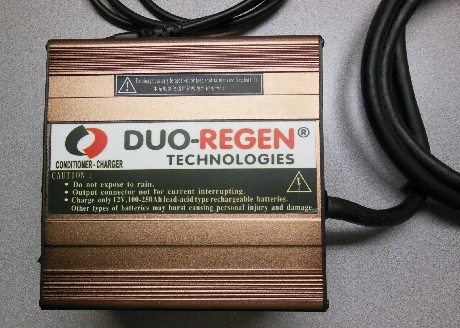 12 25A volt battery charger