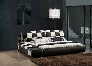 Brand new modern leather bed KINGSTON Hoppers Crossing Wyndham Area Preview