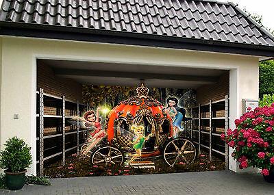 Garage Tür Wand Druck Abziehbild Wand Dekor AJ WALLPAPER DE (3d-kürbis)