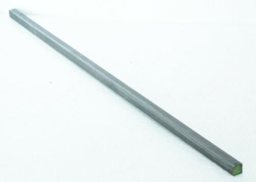 """Make a Key Stock Keyway Square 1/4"""" x 1/4"""" x 1 ft Carbon Steel - New"""