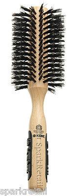 Kent Natural Shine LARGE Radial Bristle Hair Brush Round Wooden Hairbrush PF03, usado segunda mano  Embacar hacia Spain