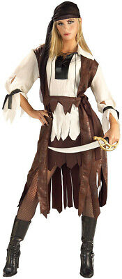 Sexy Caribbean Pirate Girl Buccaneer Vixen Wench - Costume (Women's to Size 12) Sexy Vixen Pirate