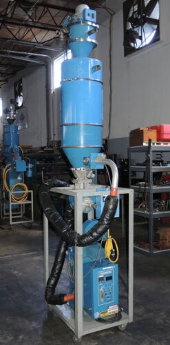 Novatec MD-25S Dehumidifying Dryer, Hopper, & Vacuum Loader Complete System