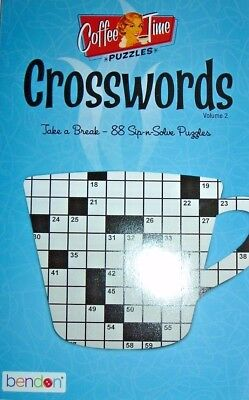 Crosswords   Coffee Time Puzzles By Bendon Books   Volume  2