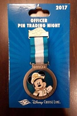Disney Cruise Line - 2017 Officer Pin Trading Night - Collector Pin - New
