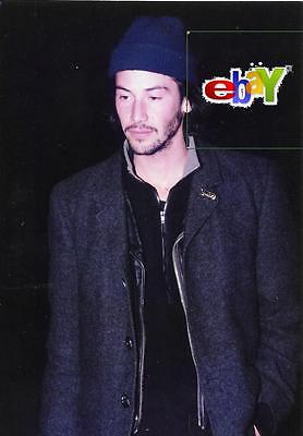 KEANU REEVES outside DOGSTAR concert - 1993 - Four original 4x6 photos